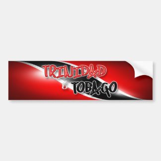 Trinidad & Tobago Bumper Sticker