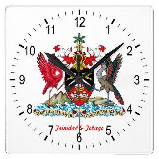 Trinidad & Tobago Coat Of Arms Clocks