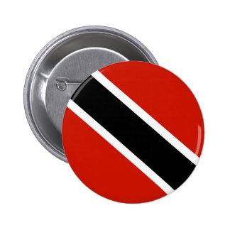 trinidad tobago country flag symbol 2 inch round button