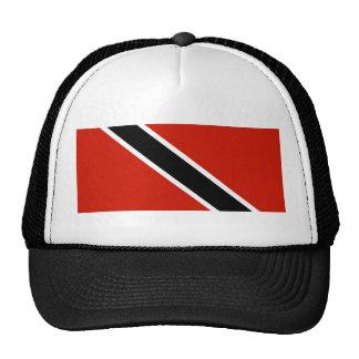 trinidad tobago country flag symbol trucker hat