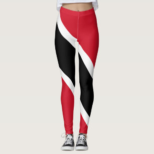 Trinidad & Tobago Flag Carnival Leggings
