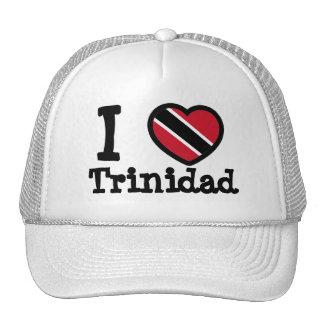 Trinidad & Tobago Flag Mesh Hat
