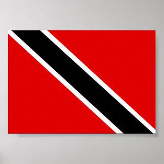 Trinidad Tobago Flag Poster