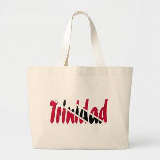Trinidad & Tobago Jumbo Tote Bag