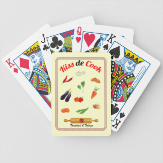 Trinidad & Tobago Kiss De Cook Food Poker Deck