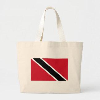 Trinidad -Tobago Large Tote Bag