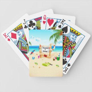Trinidad & Tobago Maracas Bay Bicycle Playing Cards