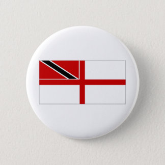 Trinidad Tobago Naval Ensign 2 Inch Round Button