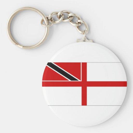 Trinidad Tobago Naval Ensign Keychains