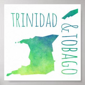 Trinidad & Tobago Poster