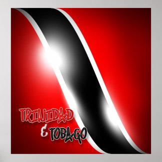 Trinidad & Tobago Poster Print
