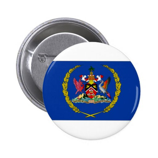Trinidad Tobago President Flag Pin