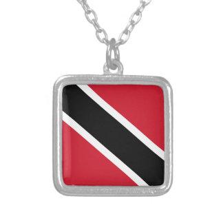 Trinidad -Tobago Silver Plated Necklace