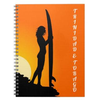 Trinidad & Tobago Surfer Note Book