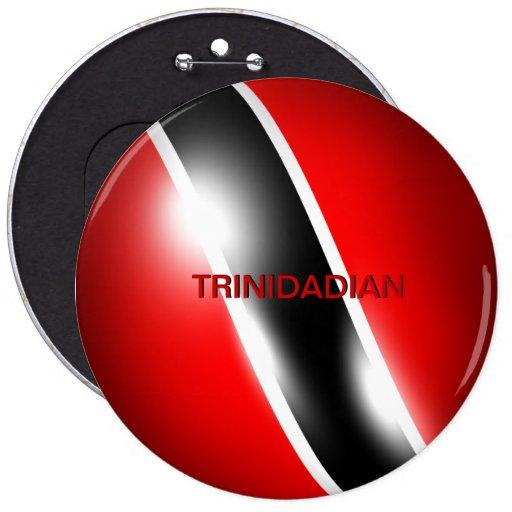 Trinidad & Tobago Trinidadian Button