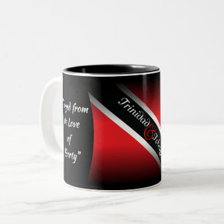 Trinidad & Tobago Two-Tone Coffee Mug