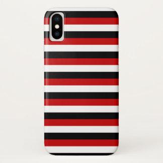 Trinidad Tobago Yemen flag stripes lines pattern Case-Mate iPhone Case