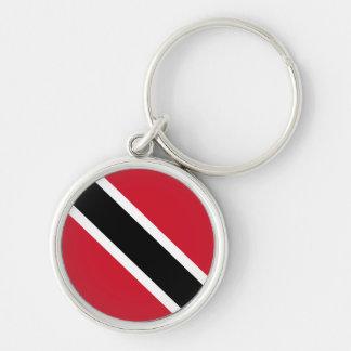 Trinidad y Tobago Flag Keychain