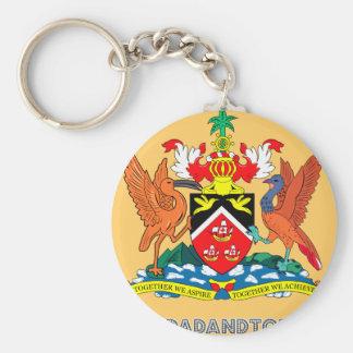 Trinidadian Emblem Keychain