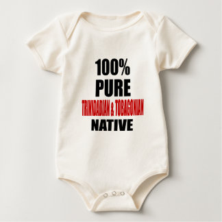 TRINIDADIAN & TOBAGONIAN NATIVE BABY BODYSUIT