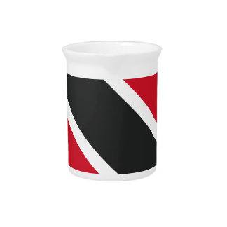 Trinidadtobago flag drink pitchers