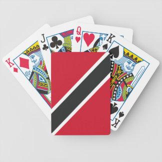 Trinidadtobago flag poker deck