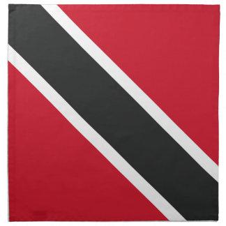 Trinidadtobago flag printed napkins