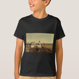 Trinita dei Monti from the Villa Medici by Camille T-Shirt
