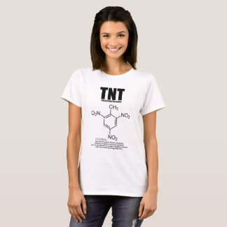 trinitrotoluene: Chemical structure and formula T-Shirt