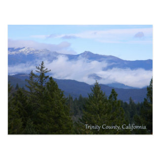 Trinity Alps in the Spring.... Postcard