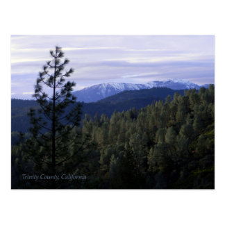 Trinity Alps in the Winter... Postcard