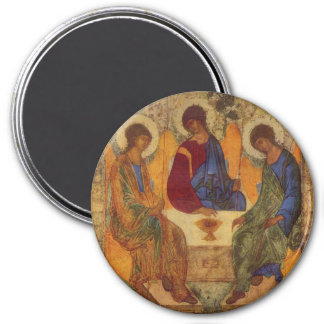 Trinity Angels At Mamre Magnet