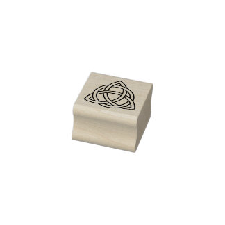 Trinity Celtic Knot Rubber Stamp