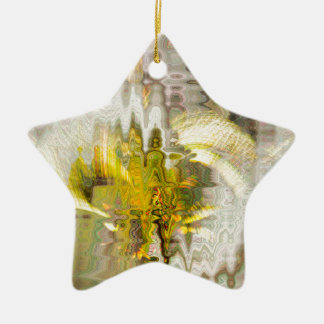 Trinity Ceramic Star Ornament