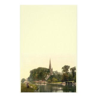 Trinity Church I, Stratford-upon-Avon, England Stationery