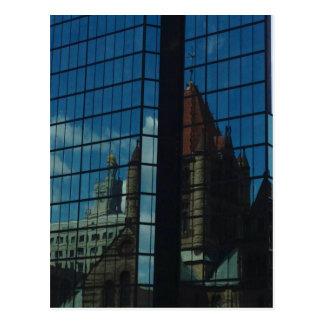Trinity Church/John Hancock Tower Postcard