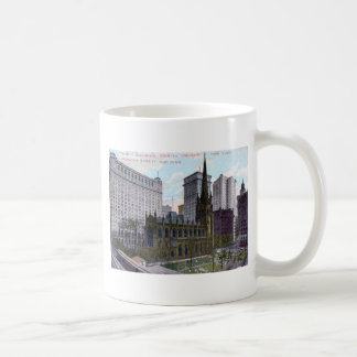 Trinity Church, New York City 1912 Vintage Coffee Mug