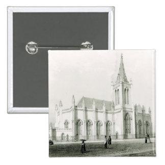 Trinity church, Port of Spain 2 Inch Square Button