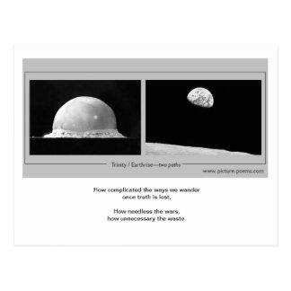 TRINITY / EARTHRISE: two paths Postcard