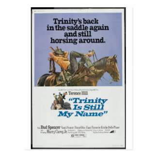 TRINITY IS STILL MY NAME POSTCARD