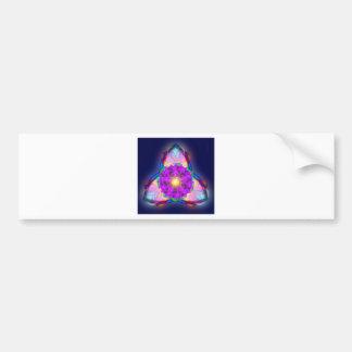 Trinity Lotus Bumper Sticker