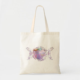 trinity moon tote bag