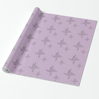 Trinity Names Wrapping Paper