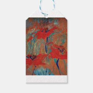 Trinity of California Poppies Gift Tags