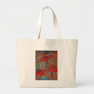 Trinity of California Poppies Large Tote Bag