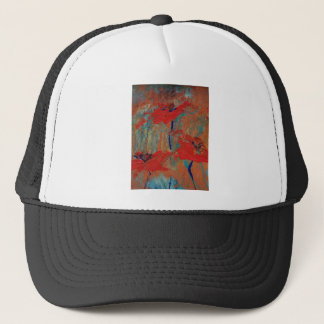 Trinity of California Poppies Trucker Hat