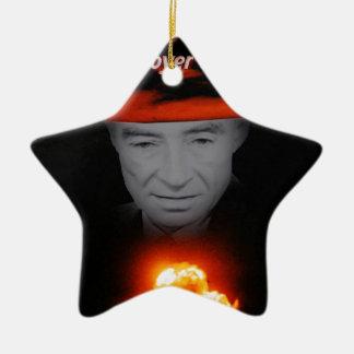 Trinity Robert Oppenheimer Ceramic Star Ornament