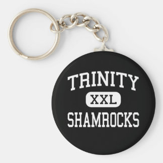 Trinity - Shamrocks - High - Louisville Kentucky Keychain