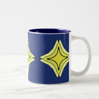 Trinity Star Two-Tone Coffee Mug