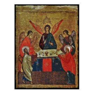 Trinity with the Saints Postcard